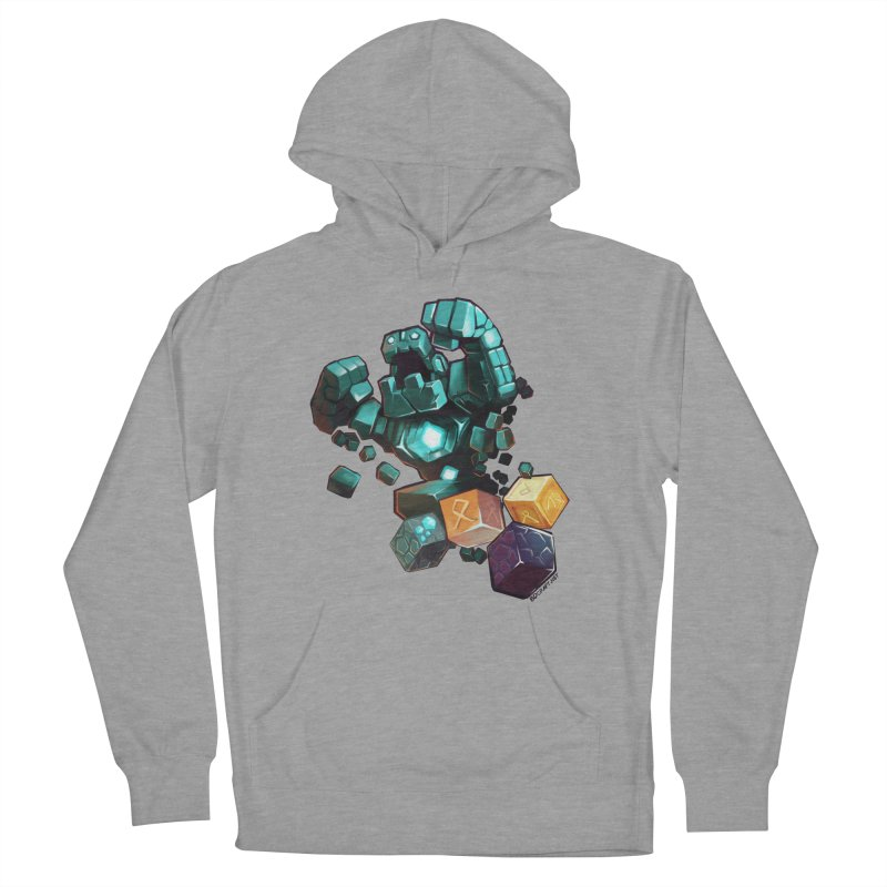 PureBDcraft Golem Men's French Terry Pullover Hoody by BDcraft Shop