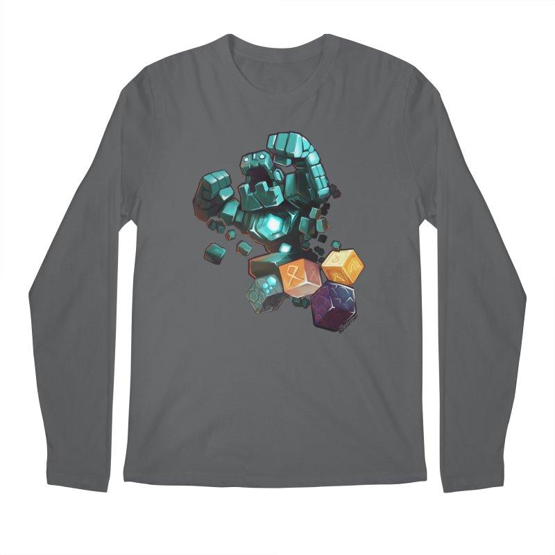 PureBDcraft Golem Men's Regular Longsleeve T-Shirt by BDcraft Shop