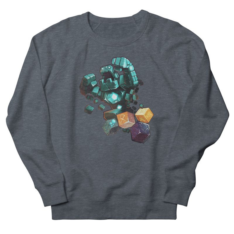 PureBDcraft Golem Women's French Terry Sweatshirt by BDcraft Shop