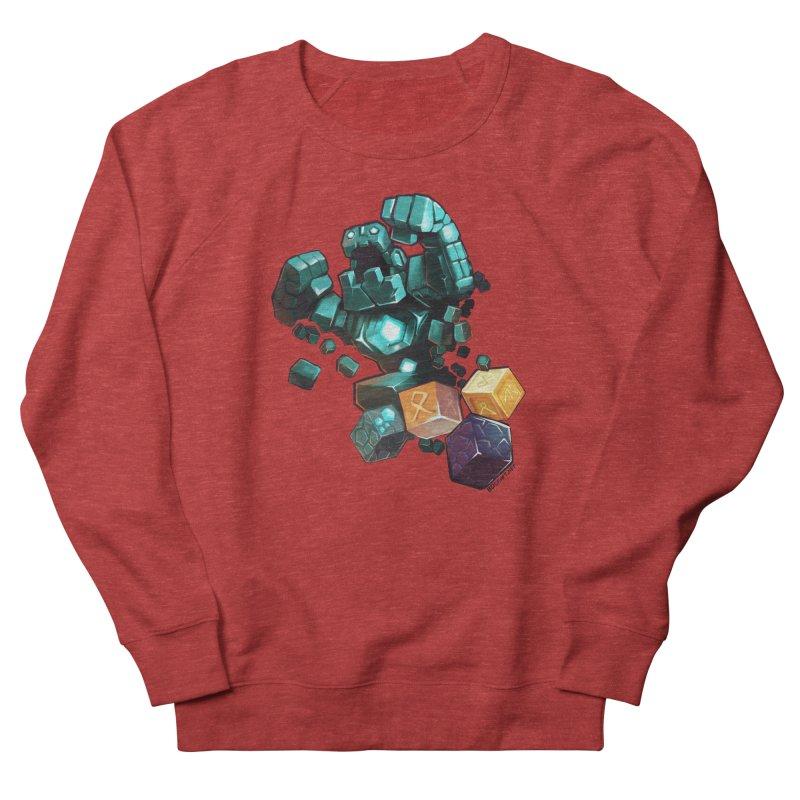 PureBDcraft Golem Men's French Terry Sweatshirt by BDcraft Shop