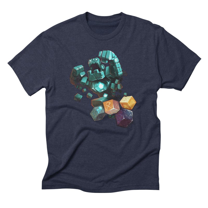 PureBDcraft Golem Men's Triblend T-Shirt by BDcraft Shop