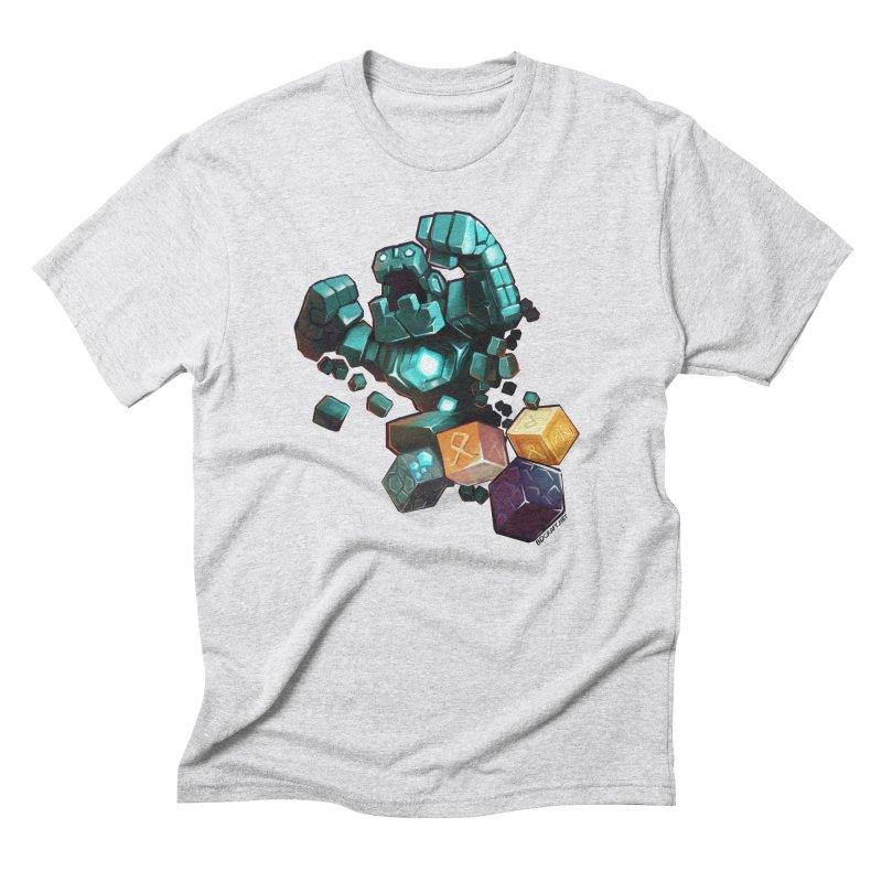 PureBDcraft Golem Men's Triblend T-Shirt by BDcraft Shop