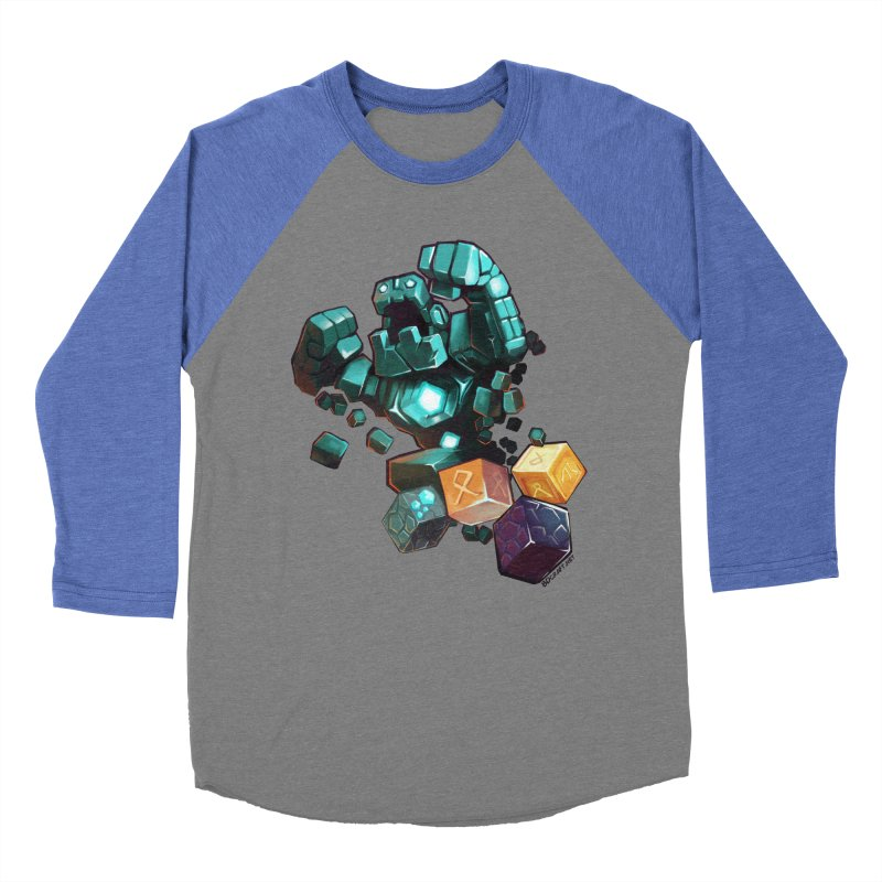 PureBDcraft Golem Women's Baseball Triblend Longsleeve T-Shirt by BDcraft Shop