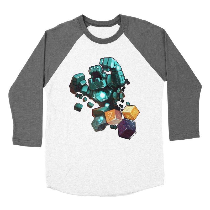 PureBDcraft Golem Men's Baseball Triblend Longsleeve T-Shirt by BDcraft Shop