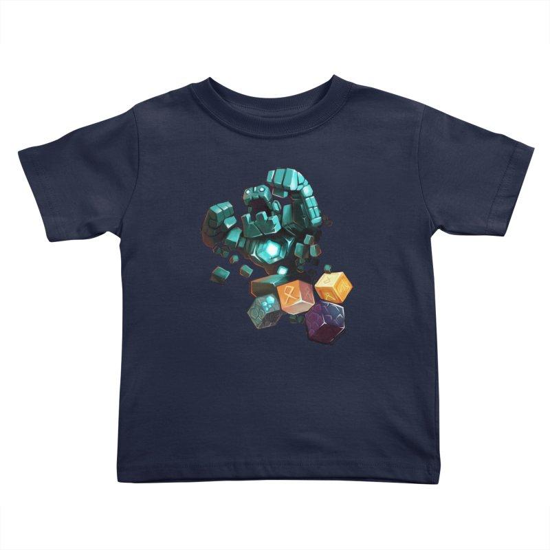 PureBDcraft Golem Kids Toddler T-Shirt by BDcraft Shop