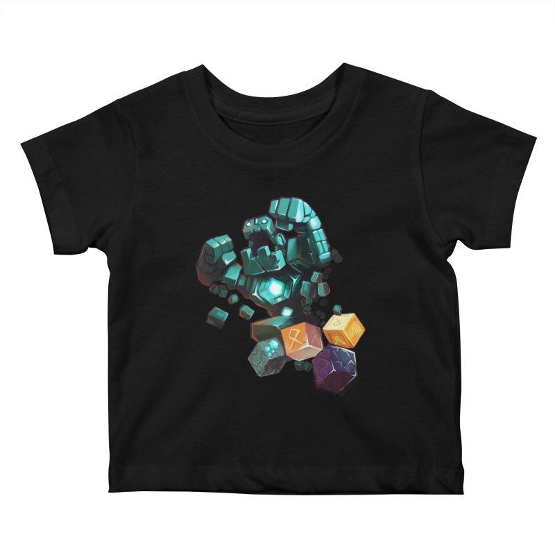 PureBDcraft Golem Kids Baby T-Shirt by BDcraft Shop
