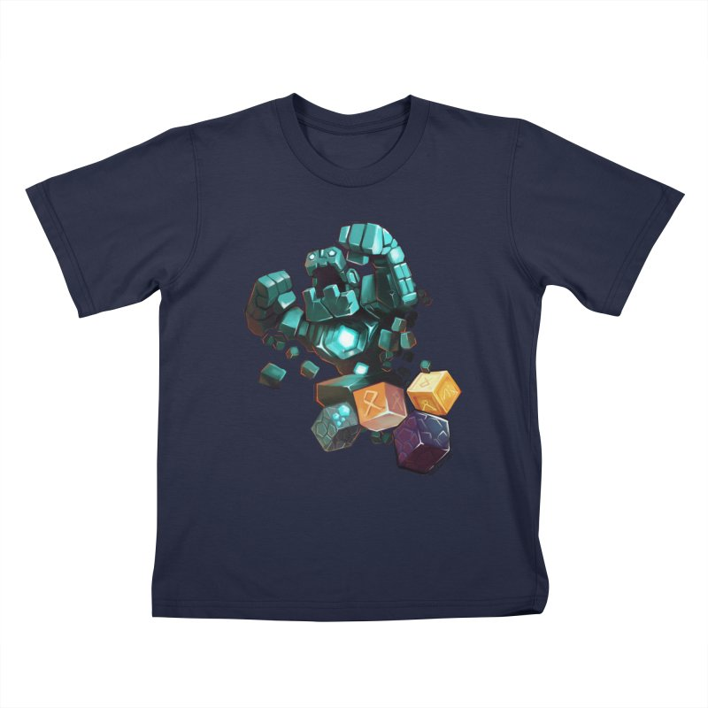 PureBDcraft Golem Kids T-Shirt by BDcraft Shop