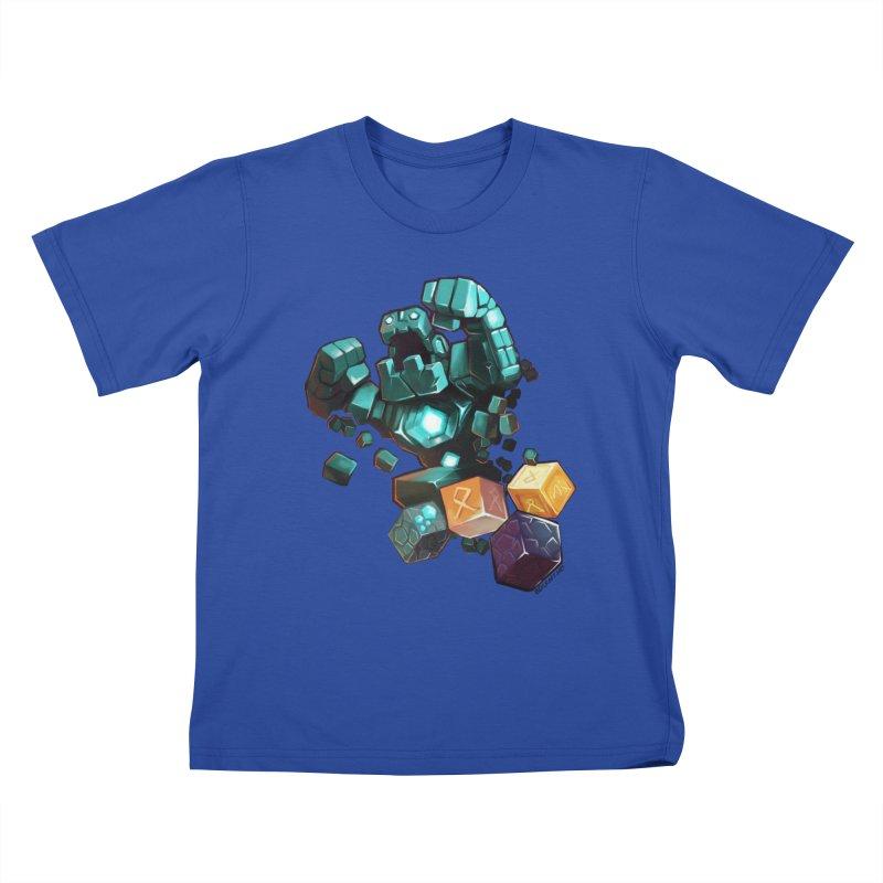 PureBDcraft Golem Kids T-Shirt by BDcraft Shop