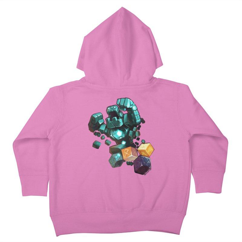 PureBDcraft Golem Kids Toddler Zip-Up Hoody by BDcraft Shop