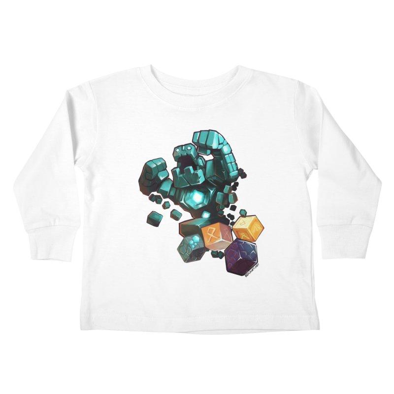 PureBDcraft Golem Kids Toddler Longsleeve T-Shirt by BDcraft Shop