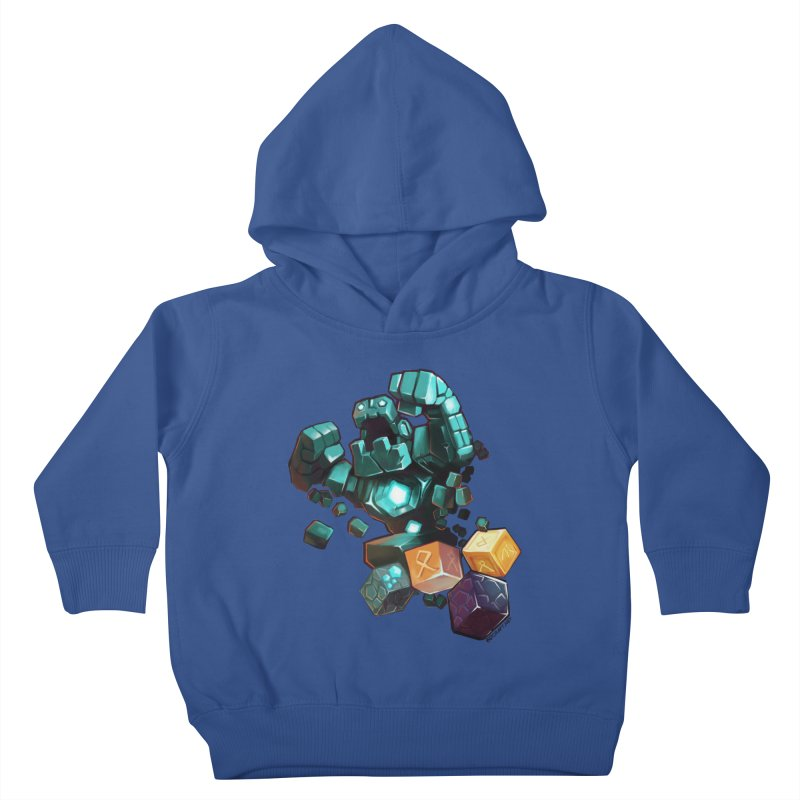 PureBDcraft Golem Kids Toddler Pullover Hoody by BDcraft Shop