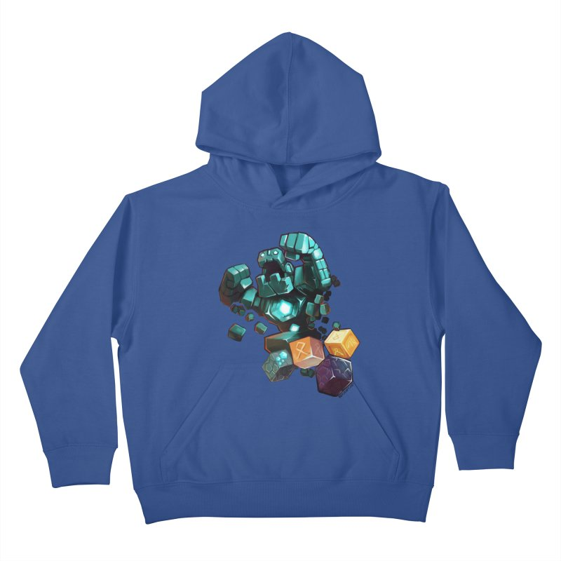 PureBDcraft Golem Kids Pullover Hoody by BDcraft Shop