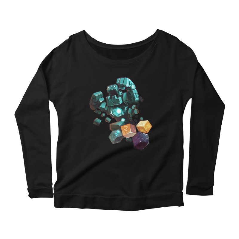 PureBDcraft Golem Women's Scoop Neck Longsleeve T-Shirt by BDcraft Shop