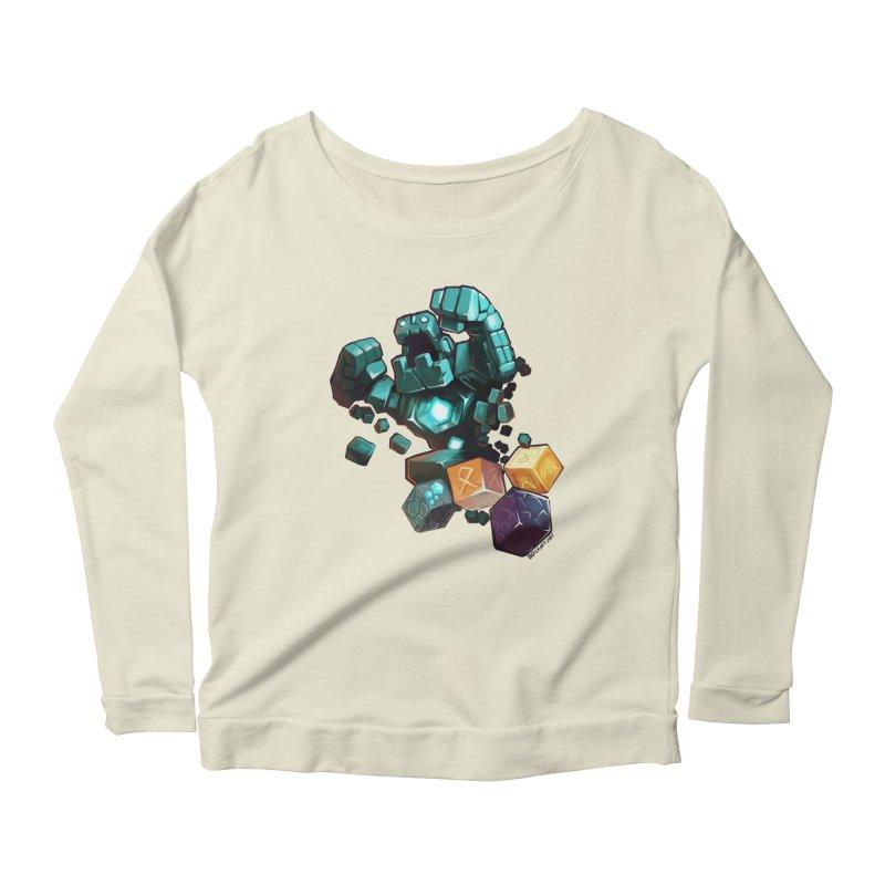 PureBDcraft Golem Women's Scoop Neck Longsleeve T-Shirt by BDcraft Shop