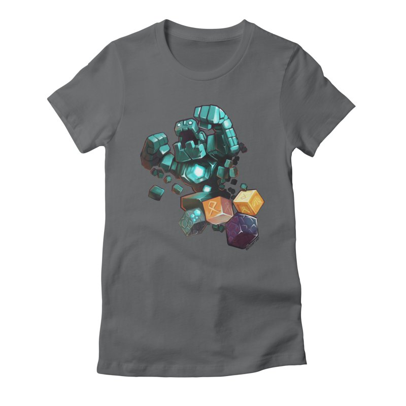 PureBDcraft Golem Women's Fitted T-Shirt by BDcraft Shop