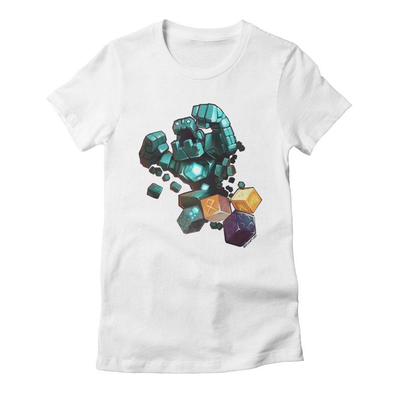 PureBDcraft Golem Women's Fitted T-Shirt by BDcraft Shop