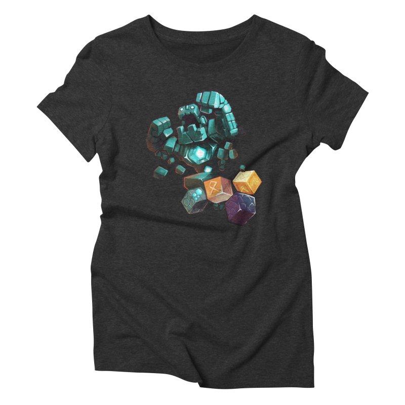 PureBDcraft Golem Women's Triblend T-Shirt by BDcraft Shop