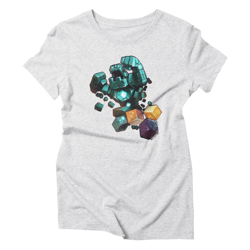PureBDcraft Golem Women's Triblend T-Shirt by BDcraft Shop