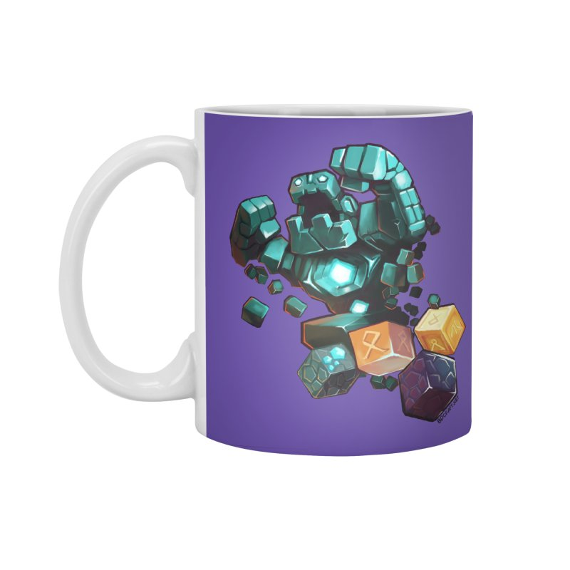 PureBDcraft Golem Accessories Standard Mug by BDcraft Shop