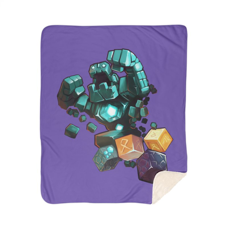 PureBDcraft Golem Home Sherpa Blanket Blanket by BDcraft Shop