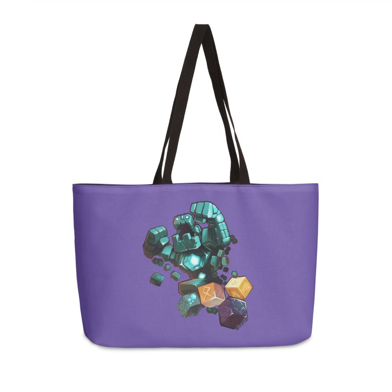 PureBDcraft Golem Accessories Weekender Bag Bag by BDcraft Shop