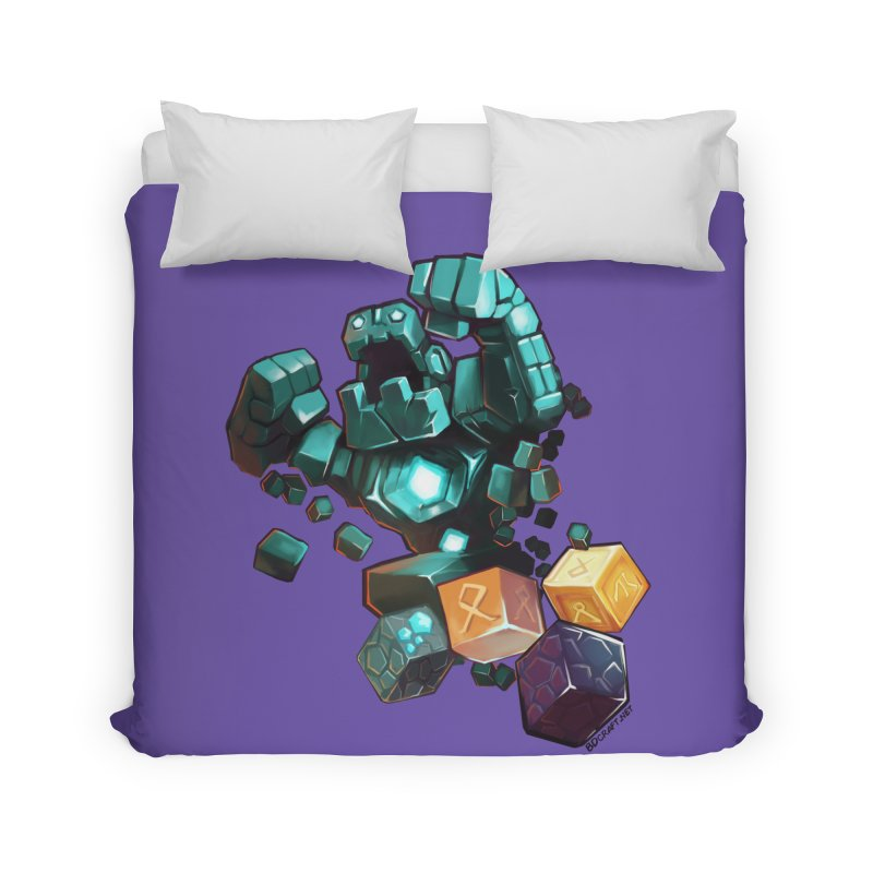 PureBDcraft Golem Home Duvet by BDcraft Shop