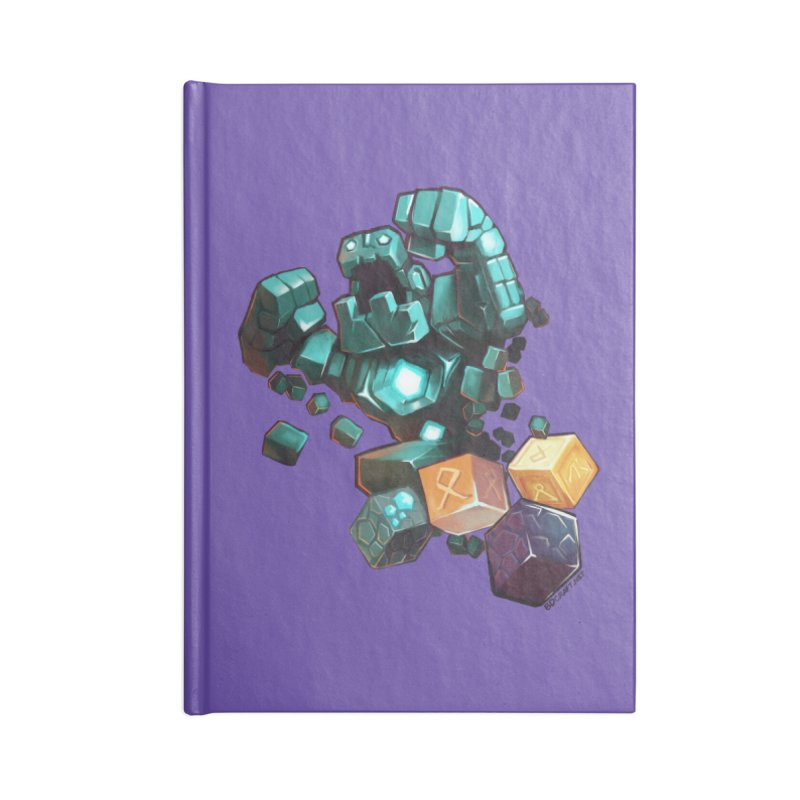 PureBDcraft Golem Accessories Lined Journal Notebook by BDcraft Shop
