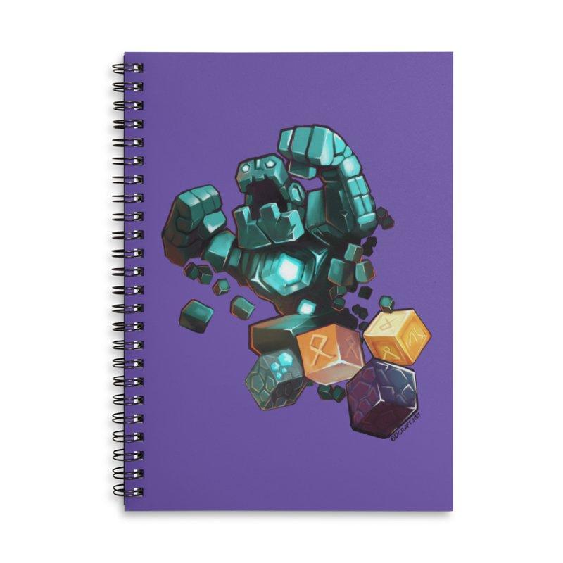 PureBDcraft Golem Accessories Notebook by BDcraft Shop