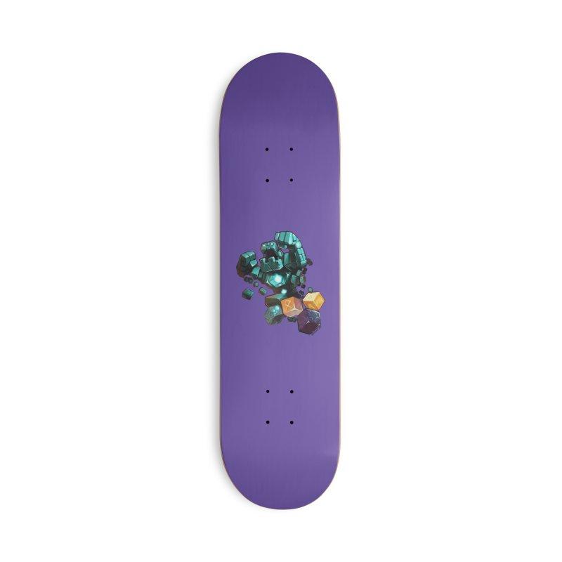 PureBDcraft Golem Accessories Skateboard by BDcraft Shop