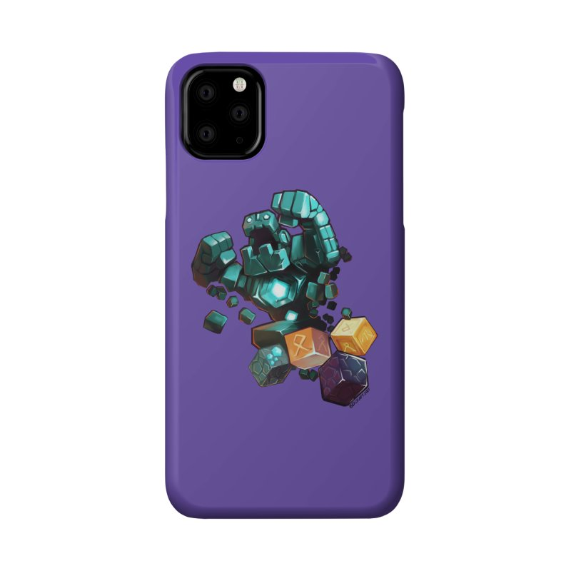 PureBDcraft Golem Accessories Phone Case by BDcraft Shop