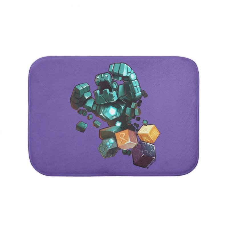 PureBDcraft Golem Home Bath Mat by BDcraft Shop
