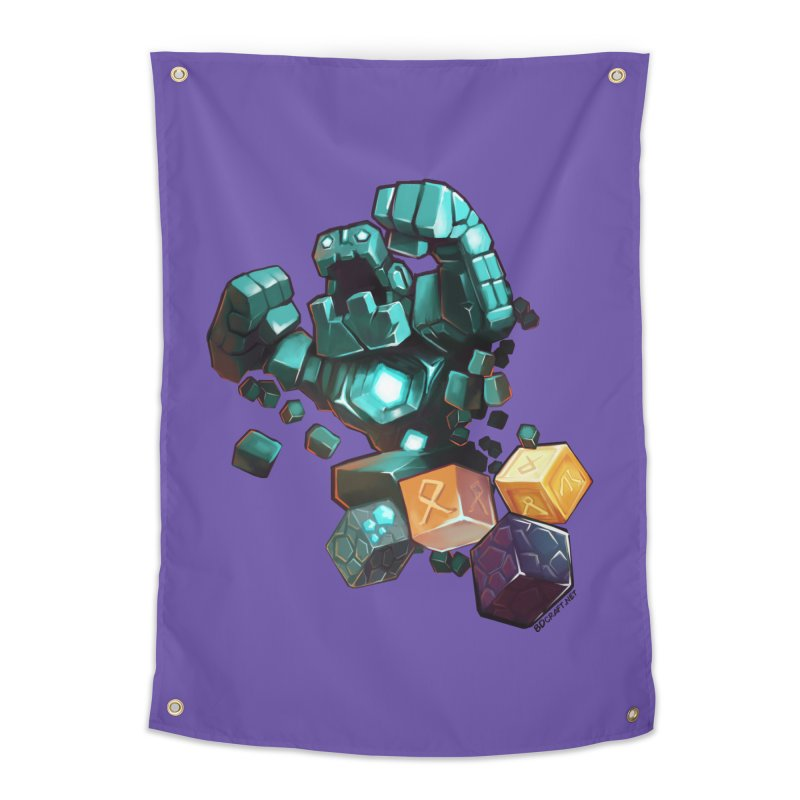 PureBDcraft Golem Home Tapestry by BDcraft Shop