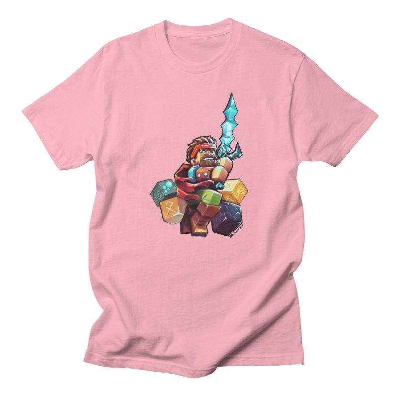 PureBDcraft Hero Men's T-Shirt by BDcraft Shop