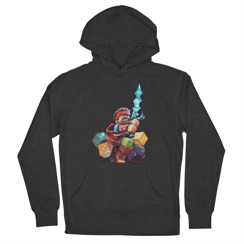 PureBDcraft Hero Women's French Terry Pullover Hoody by BDcraft Shop