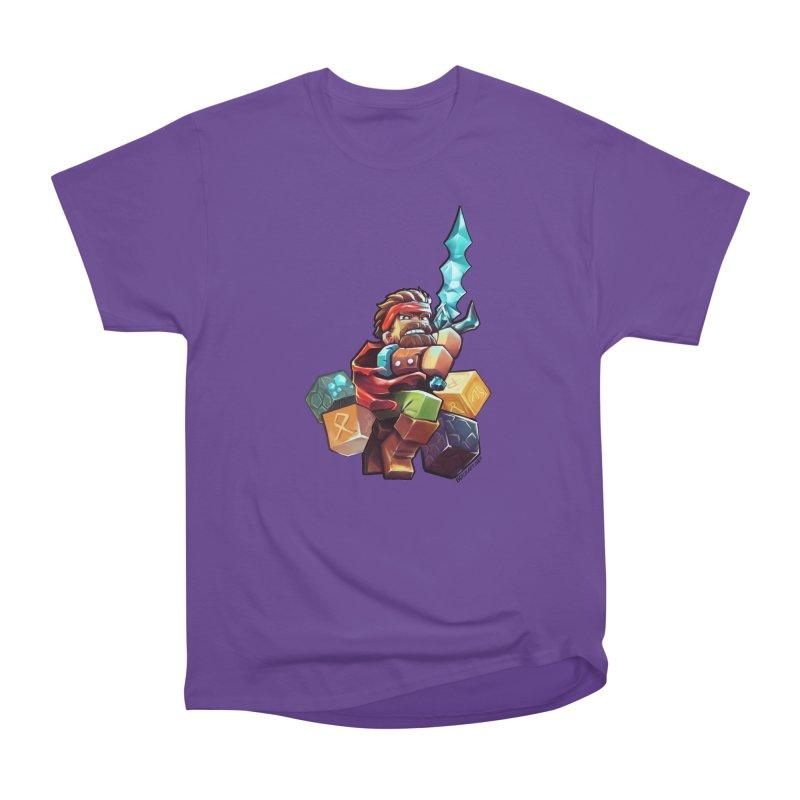 PureBDcraft Hero Men's Heavyweight T-Shirt by BDcraft Shop