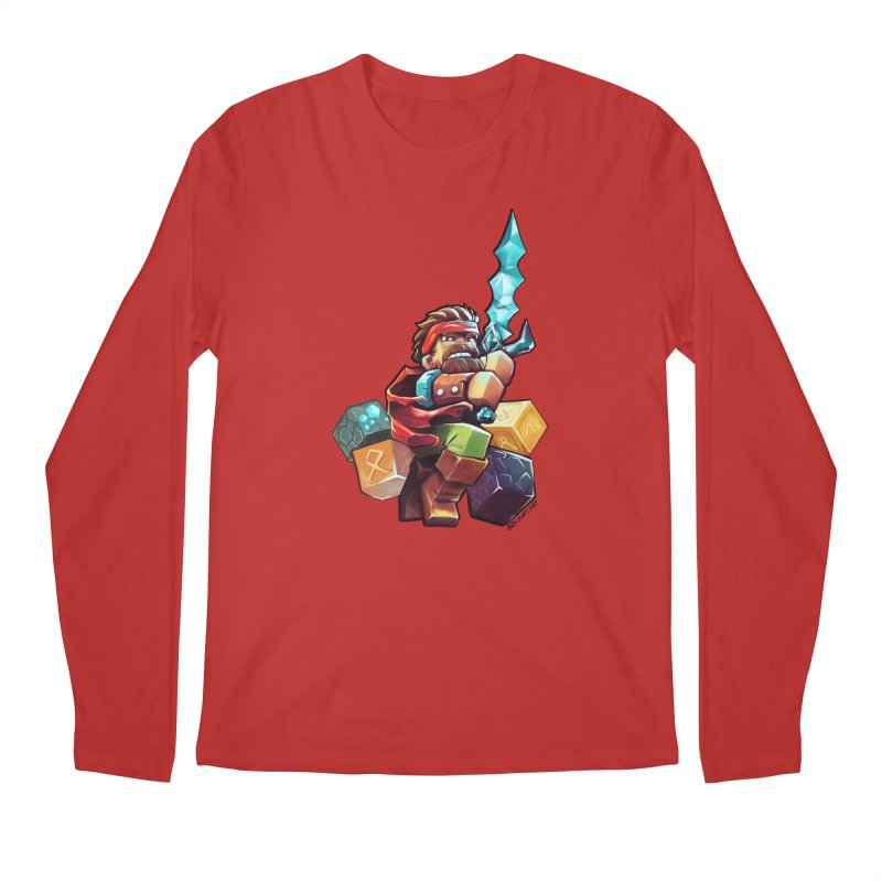 PureBDcraft Hero Men's Longsleeve T-Shirt by BDcraft Shop