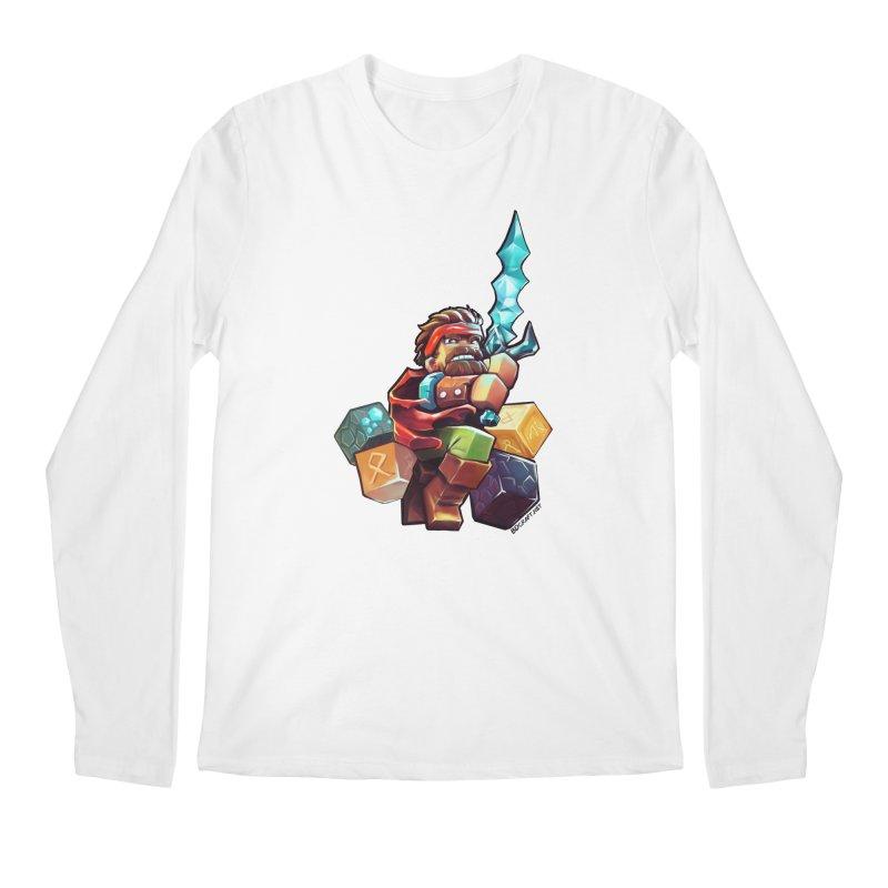 PureBDcraft Hero Men's Regular Longsleeve T-Shirt by BDcraft Shop