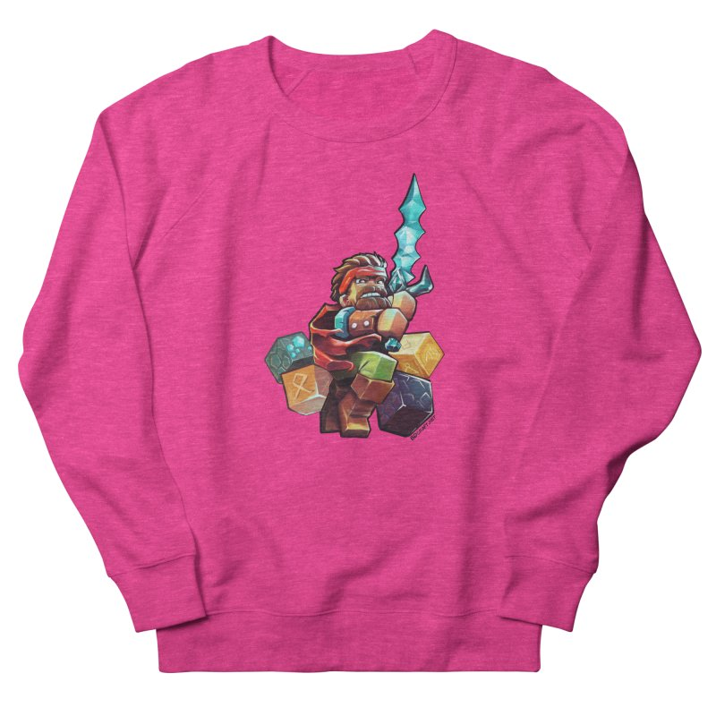 PureBDcraft Hero Men's French Terry Sweatshirt by BDcraft Shop