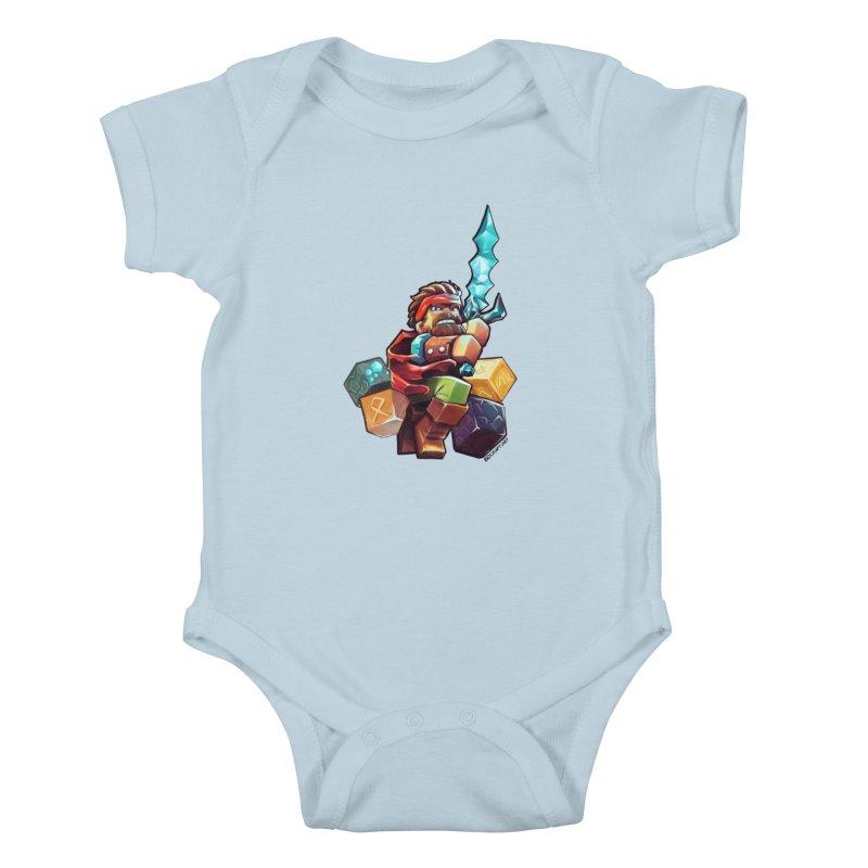 PureBDcraft Hero Kids Baby Bodysuit by BDcraft Shop
