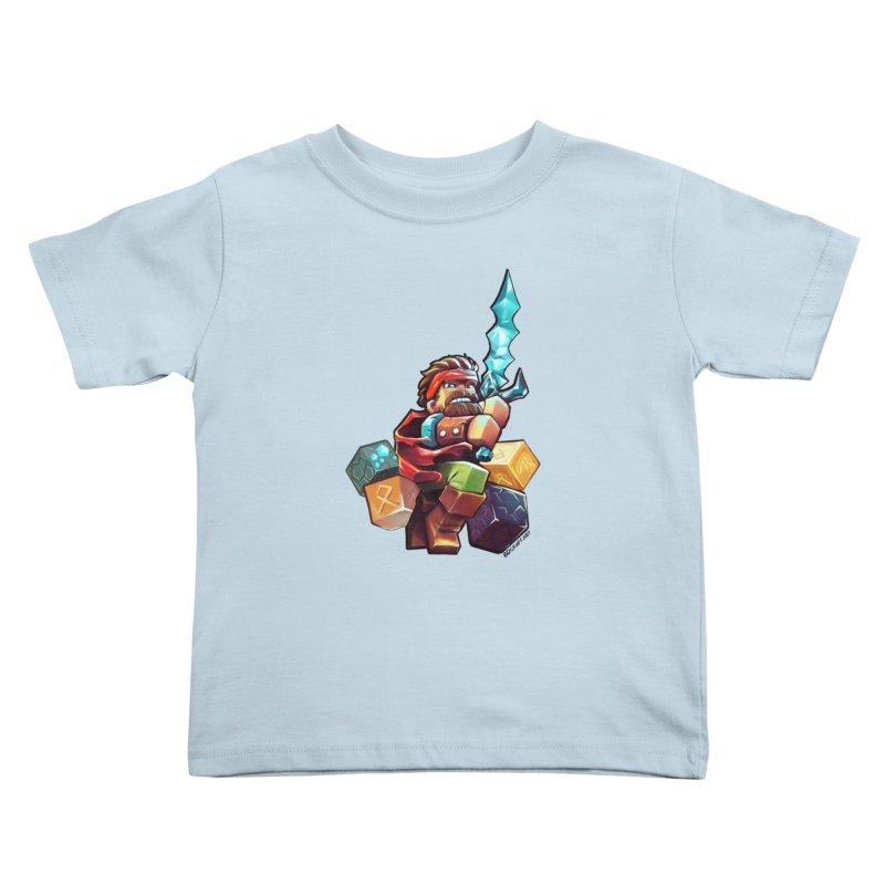 PureBDcraft Hero Kids Toddler T-Shirt by BDcraft Shop