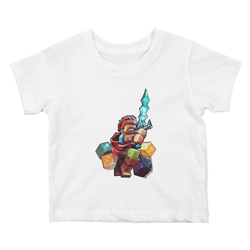 PureBDcraft Hero Kids Baby T-Shirt by BDcraft Shop