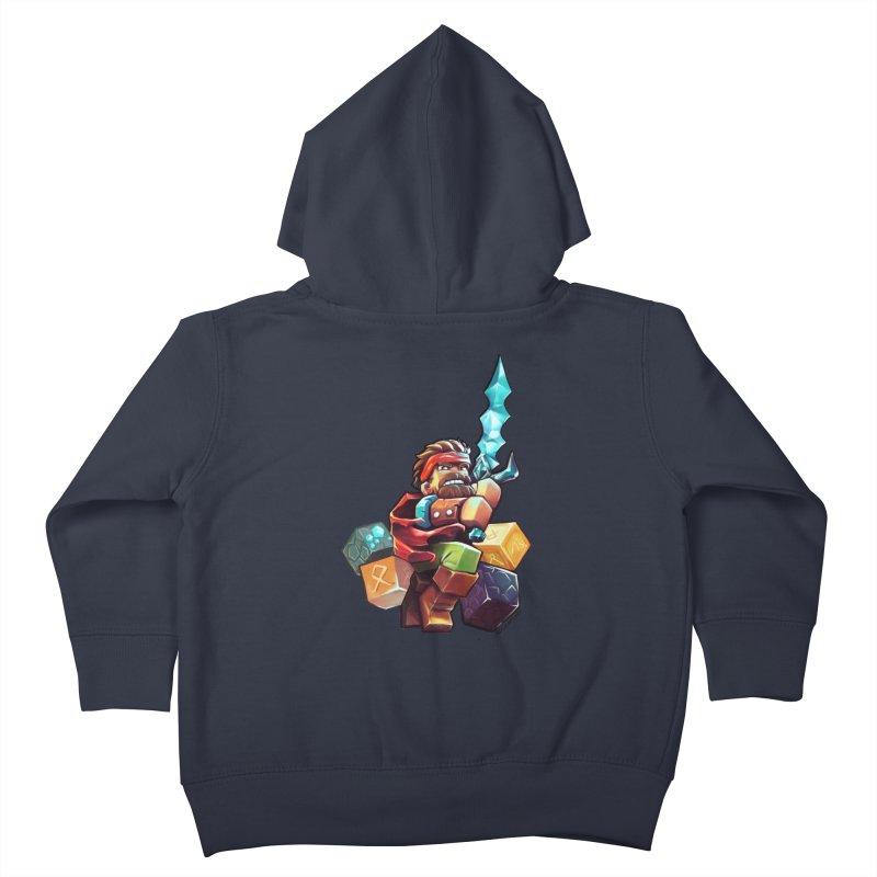 PureBDcraft Hero Kids Toddler Zip-Up Hoody by BDcraft Shop