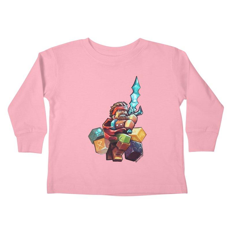 PureBDcraft Hero Kids Toddler Longsleeve T-Shirt by BDcraft Shop