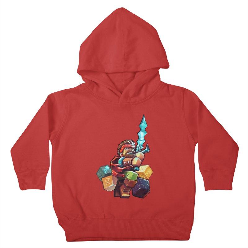 PureBDcraft Hero Kids Toddler Pullover Hoody by BDcraft Shop