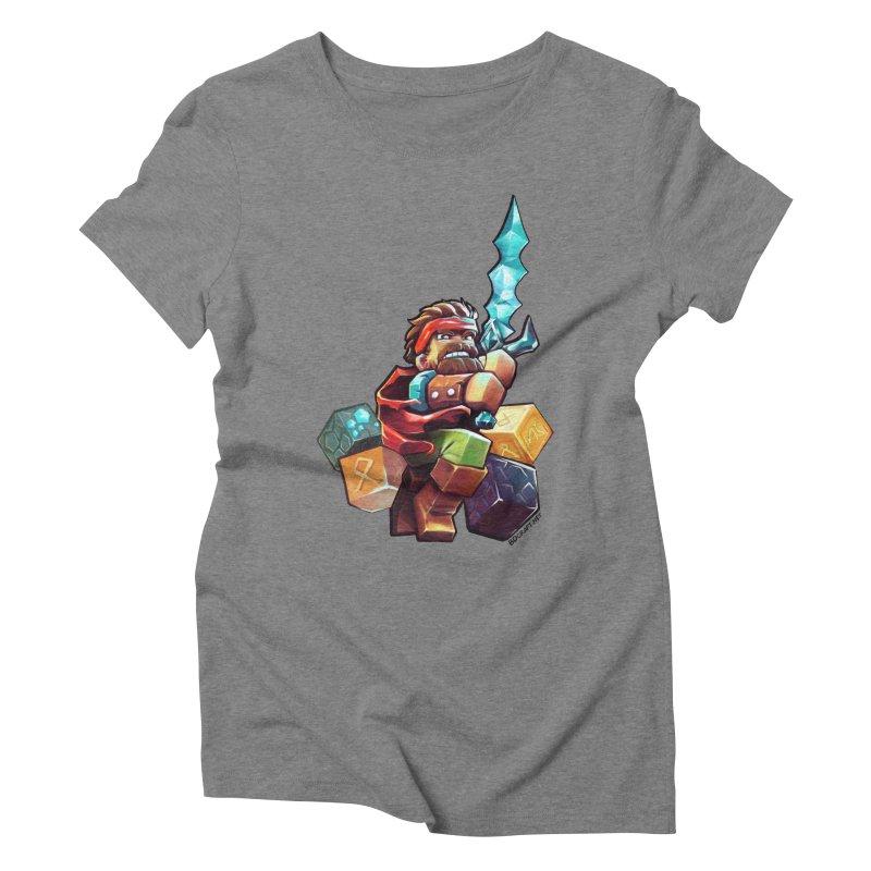 PureBDcraft Hero Women's Triblend T-Shirt by BDcraft Shop