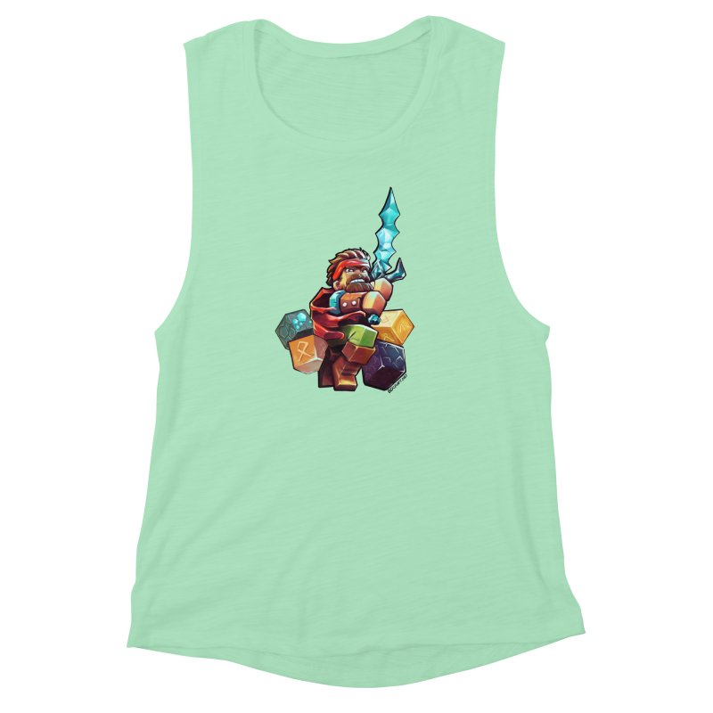 PureBDcraft Hero Women's Muscle Tank by BDcraft Shop