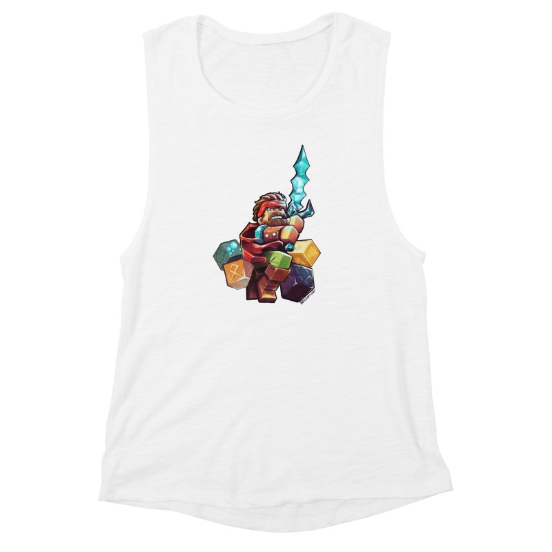 PureBDcraft Hero Women's Muscle Tank by BDcraft Shop