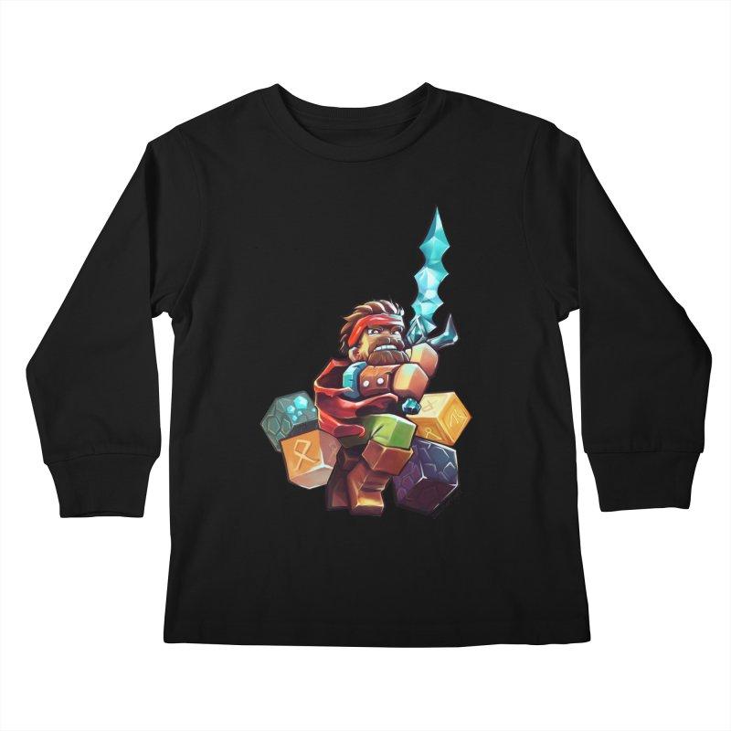 PureBDcraft Hero Kids Longsleeve T-Shirt by BDcraft Shop
