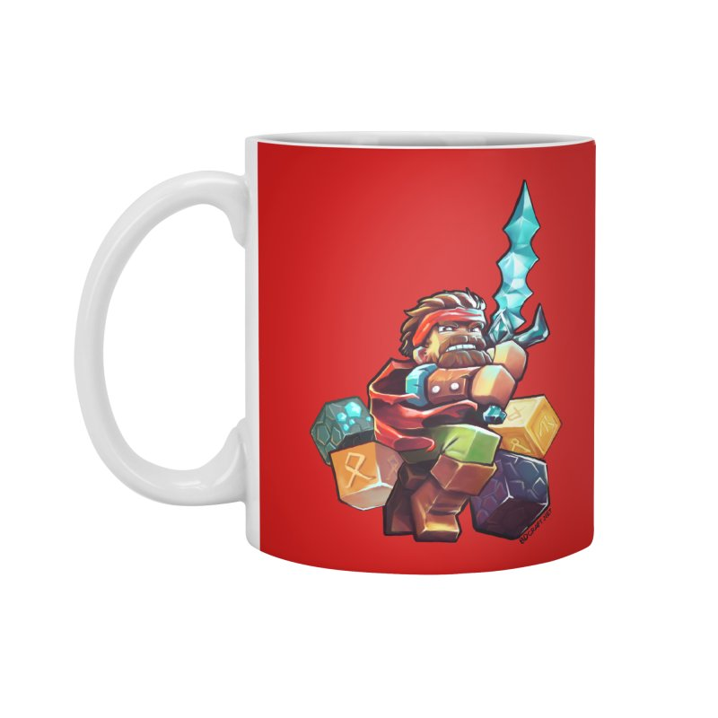 PureBDcraft Hero Accessories Mug by BDcraft Shop