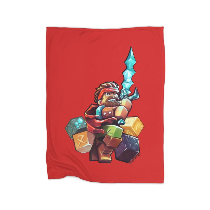 PureBDcraft Hero Home Fleece Blanket Blanket by BDcraft Shop